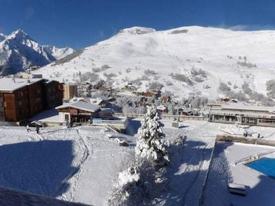 Skilift Puy-Salie 2, Les Deux Alpes, Isère, Frankreich
