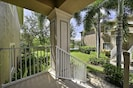 SWM3222 - Tropical landscaping lines the inviting, private entrance