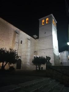 Kirche von Belmonte de Tajo, Belmonte de Tajo, Gemeinde von Madrid, Spanien