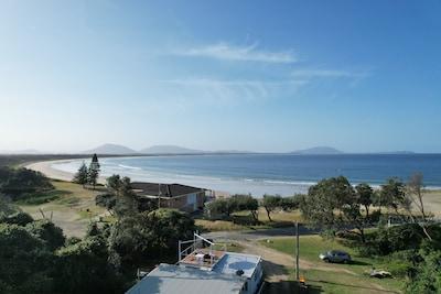 Harrington Beach State Park, Harrington, Nouvelle-Galles-du-Sud, Australie