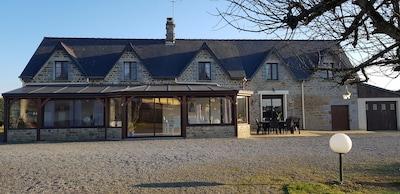 Bourguenolles, Manche, Frankreich