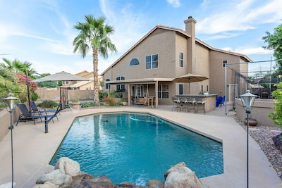 Plenty of space for your group.  This home is an entertainer's dream!