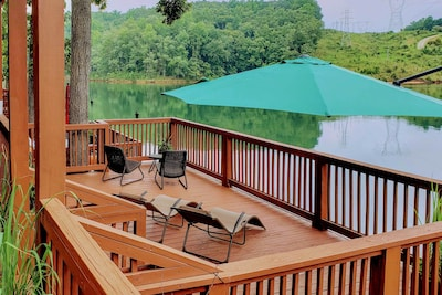 Six Mile Vacation Rental | 2BR | 1BA | 2 Stories | 1,100 Sq Ft