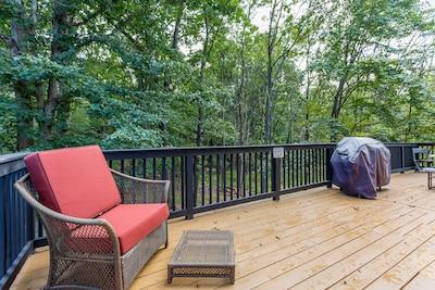 Plenty of Outdoor Deck Space