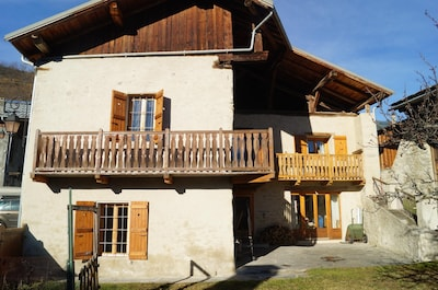 Vulmix, Bourg-Saint-Maurice, Savoie, France