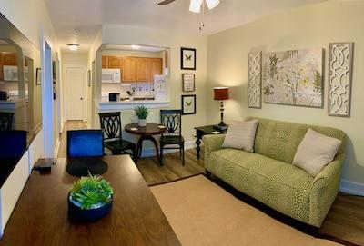 Main living area - open floor plan