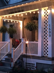 Relax on our Riverfront Porch