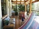 Comfortable veranda
