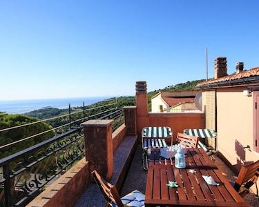 Lingueglietta, Cipressa, Ligurië, Italië