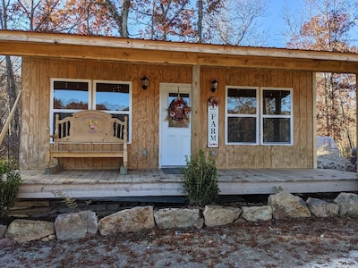 Cabin located on a beautiful CUTFLOWER FARM with a MOUNTAIN LAKE view