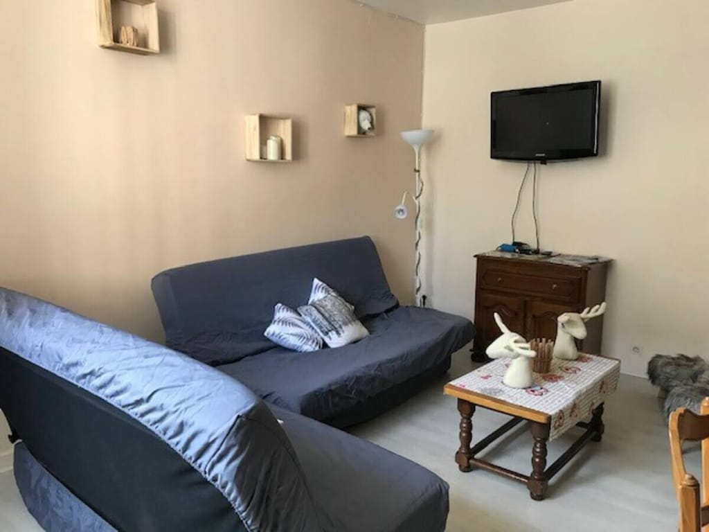 Appartement RDC Centre La Bourboule 4-6 personnes