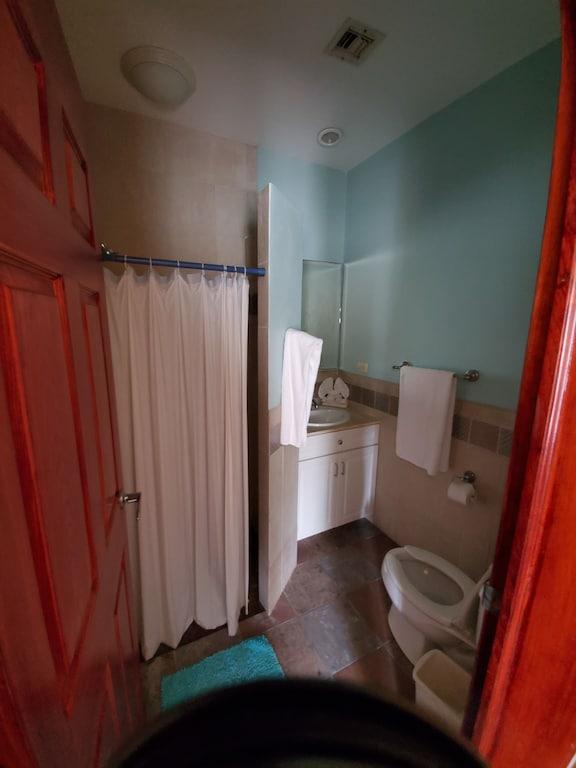 Bedrooms 2 & 3 have 3/4 baths.