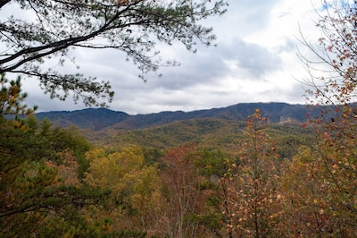 Greenbrier Pinnacle, View from the Deck!