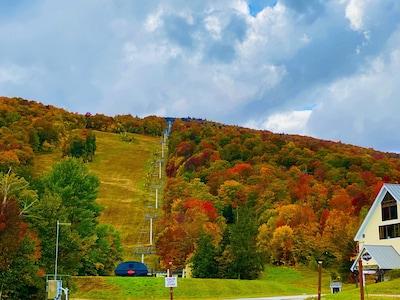 Tamarack Ski Lift, Stratton, Vermont, Verenigde Staten