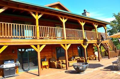 Deck Moose Lodge