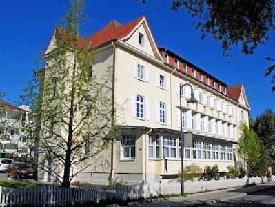 Ferienwohnung mit Balkon im Ostseebad Binz (R)