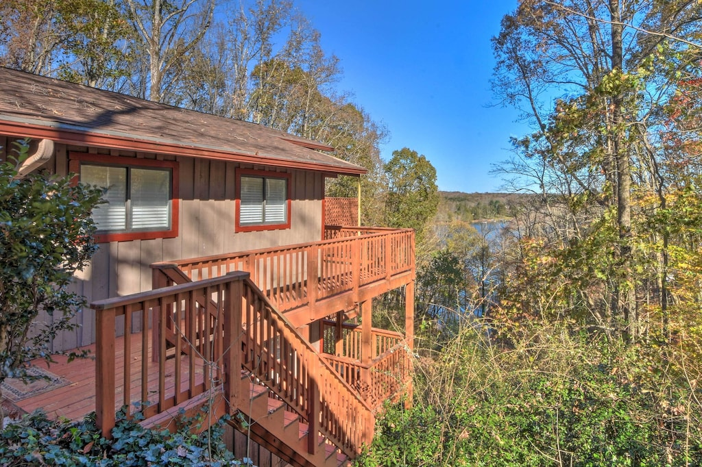 Front Entrance | Stairs Required | Paved Trail to Dock