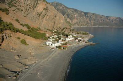 Sougia, Kandanos-Selino, Kreta, Griechenland