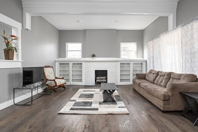 Welcome to Indy! Our spacious 4 bedroom home is the perfect home base for your stay.