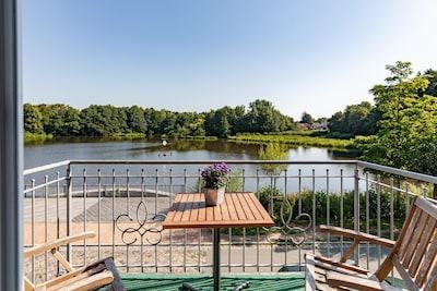 Naturzentrum (réserve naturelle), Bredstedt, Schleswig-Holstein, Allemagne