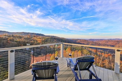 Soak in the sun and the incredible valley view all at once!