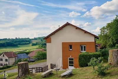 """Gite """"Langlard"""" à Bujaleuf en Haute-Vienne (Limousin en Nouvelle Aquitaine)"""