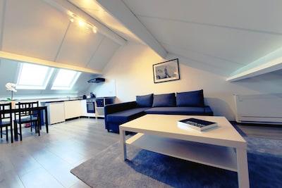 Genval-les-Bains (See), Overijse, Belgien