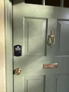 Keyless entry for your convenience and security.
