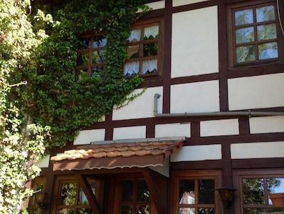 Eingangsseite Ferienhaus