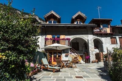 Selletta 1 Ski Lift, Bardonecchia, Piedmont, Italy