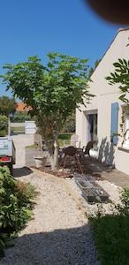 Quartier d'Orbigny, Châtelaillon-Plage, Charente-Maritime (département), France