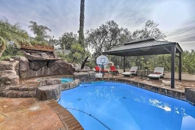 Whittier Vacation Rental | 2 Floors | 4 BR | 3 BA | 3,500 Sq Ft