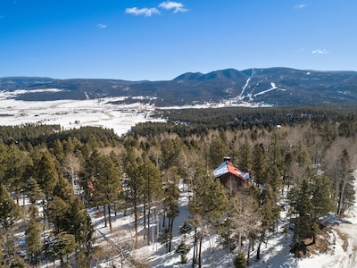 Secluded yet just minutes away from all that Angel Fire has to offer.