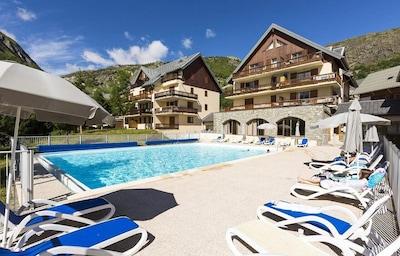 Téléski du Banc, Saint-Sorlin-d'Arves, Savoie (département), France