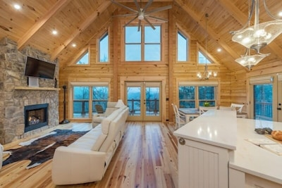 Welcome to The Bentley on Lake Lure— - Mountain living at its finest!
