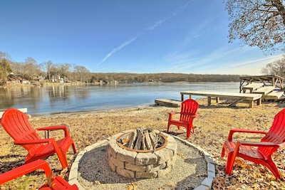 Private Dock & Outdoor Living Area