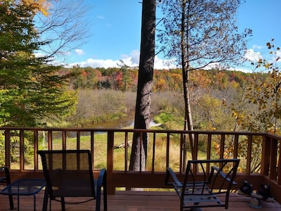 Here Is Your View From The Deck! Welcome to The River House!!!