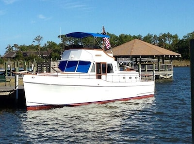 The 'Starry Banner', a 1976 46 Ft Tiffany Motor Yacht