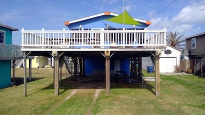 Quintana Beach County Park, Quintana, Freeport, Texas, United States of America