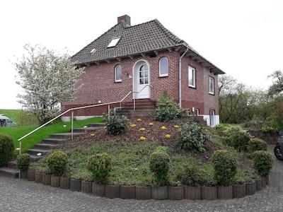 Krautsand, Drochtersen, Niedersachsen, Deutschland