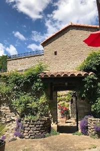 Molieres-sur-Ceze, Gard, France