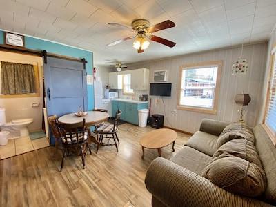 Nice spacious Living/kitchen areal.