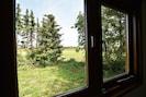 Aussicht vom Ferienhaus [Sommer]
