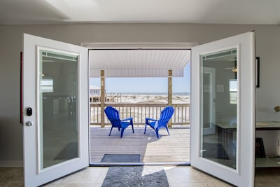 Gulf Front Porch View