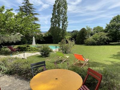 Sauzet, Drome, France