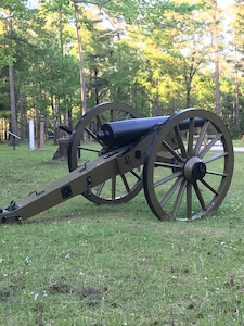 Cannon from Blakeley State Park.
