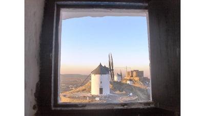 Molino del Tío Genaro (siglo XVII), Madridejos, Castilla - La Mancha, Spain