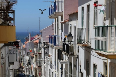 Nazare Port, Nazare, Leiria District, Portugal