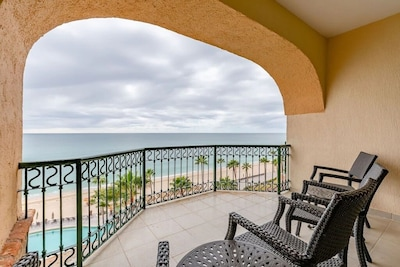 View of the Sea of Cortez from the Front Condo Deck