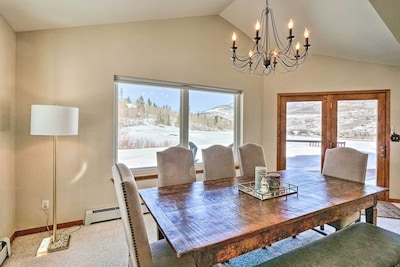 Dining Area | 1st Floor | Dishware Provided | Step-Free Access